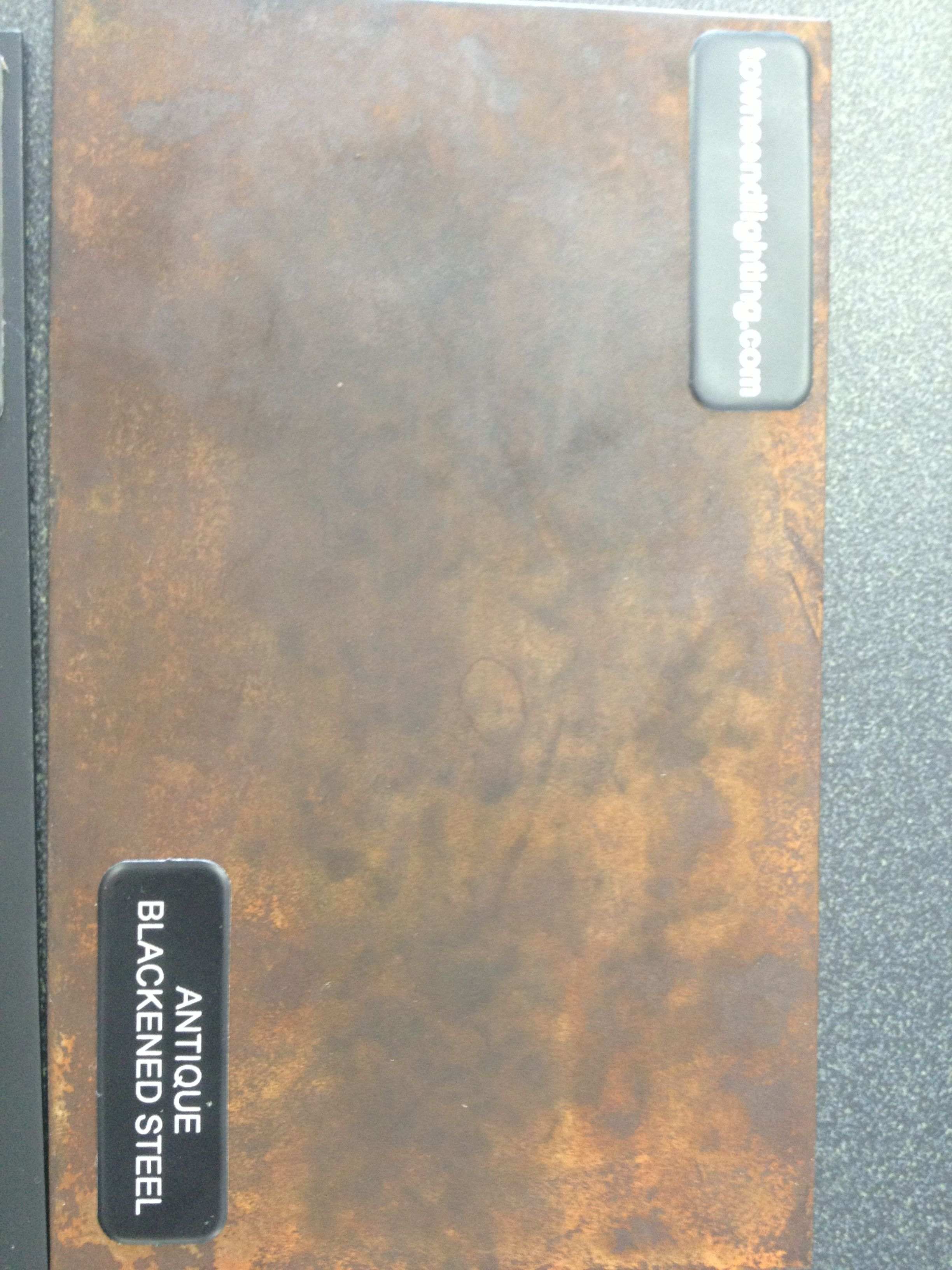 Custom Blackened Steel Metal Finish Www Tlcustomlighting