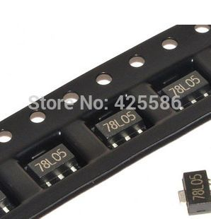 Free Shipping 78l05 Smd 100pcs Sot 89 Smd 75l05 Utc Electronic Products Electronic Components Ship
