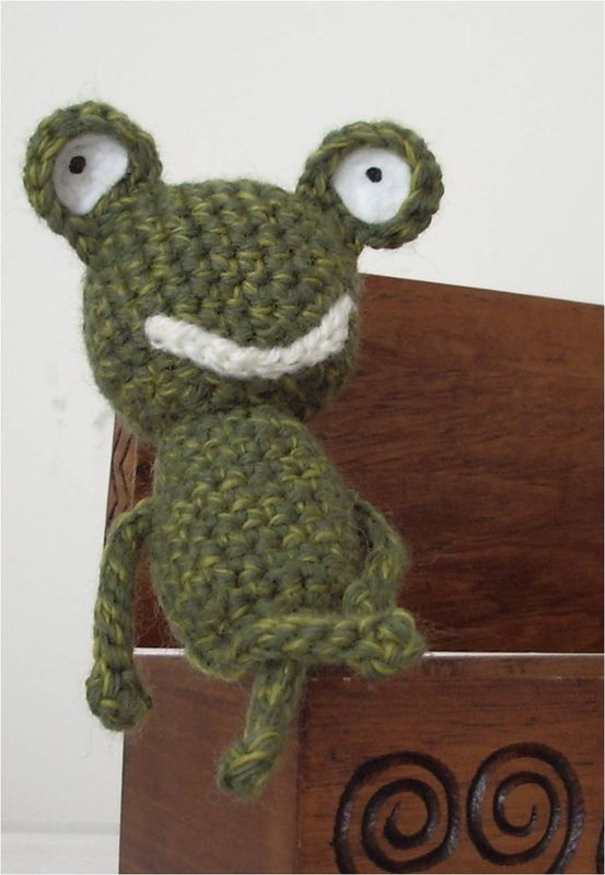 Grenouille au crochet + tuto