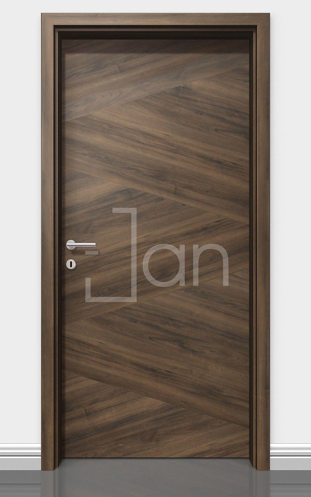 Natural Veneered Wooden Flush Door Design Mdf Living Room: Door Design Interior, Doors Interior Modern