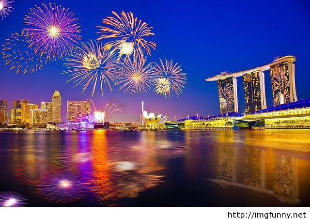 celebrating the new year in singapore