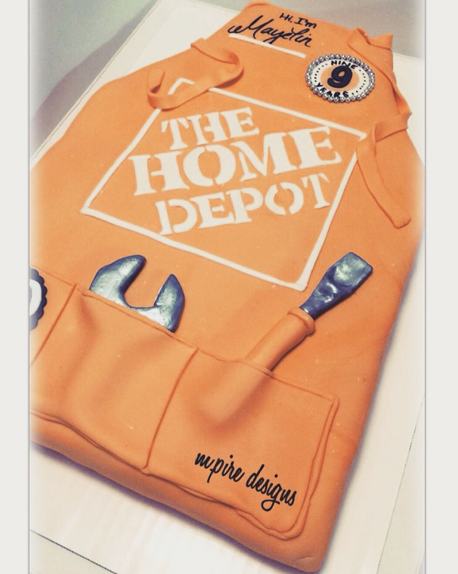 Home Depot: Corporate Event #events #corporate #weddings #retirement #homedepot #thehomedepot #uniform #apron #orange #tools #prodesk #customcake #cake #cakes #custom #redvelvetcake #redvelvet #cakeblog #cakeboss #torontoblog #instablog #blog #yorkdale #mpiredeisgns