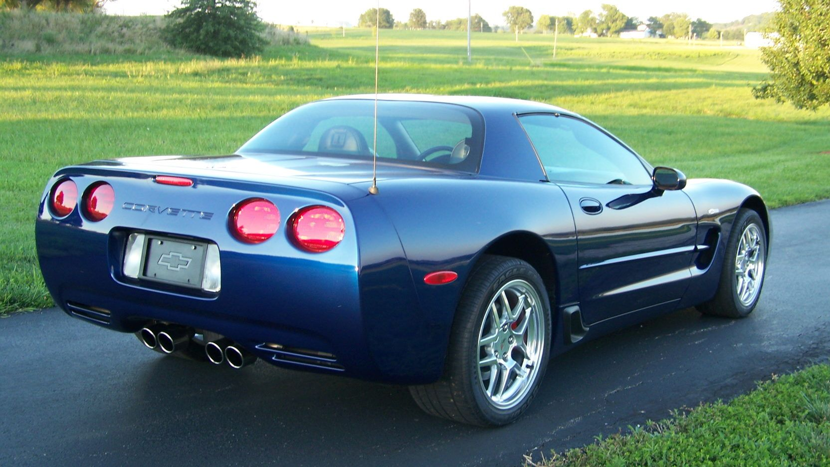2004 Chevrolet Corvette Z06 Commemorative Edition Presented As Lot