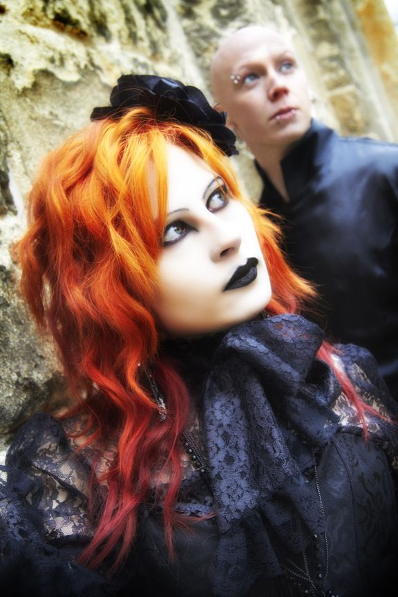 gothic shoot in oxford  long hair styles hair styles beauty