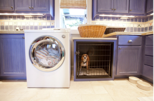 4 Easy Ways To Stylishly Hide Your Dog Crate - Three Million Dogs