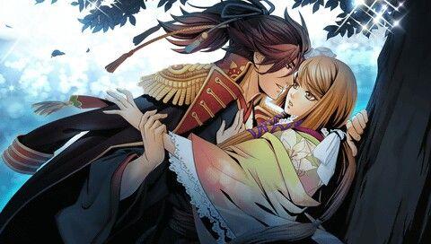 Geten no Hana- Hotaru and Nobunaga