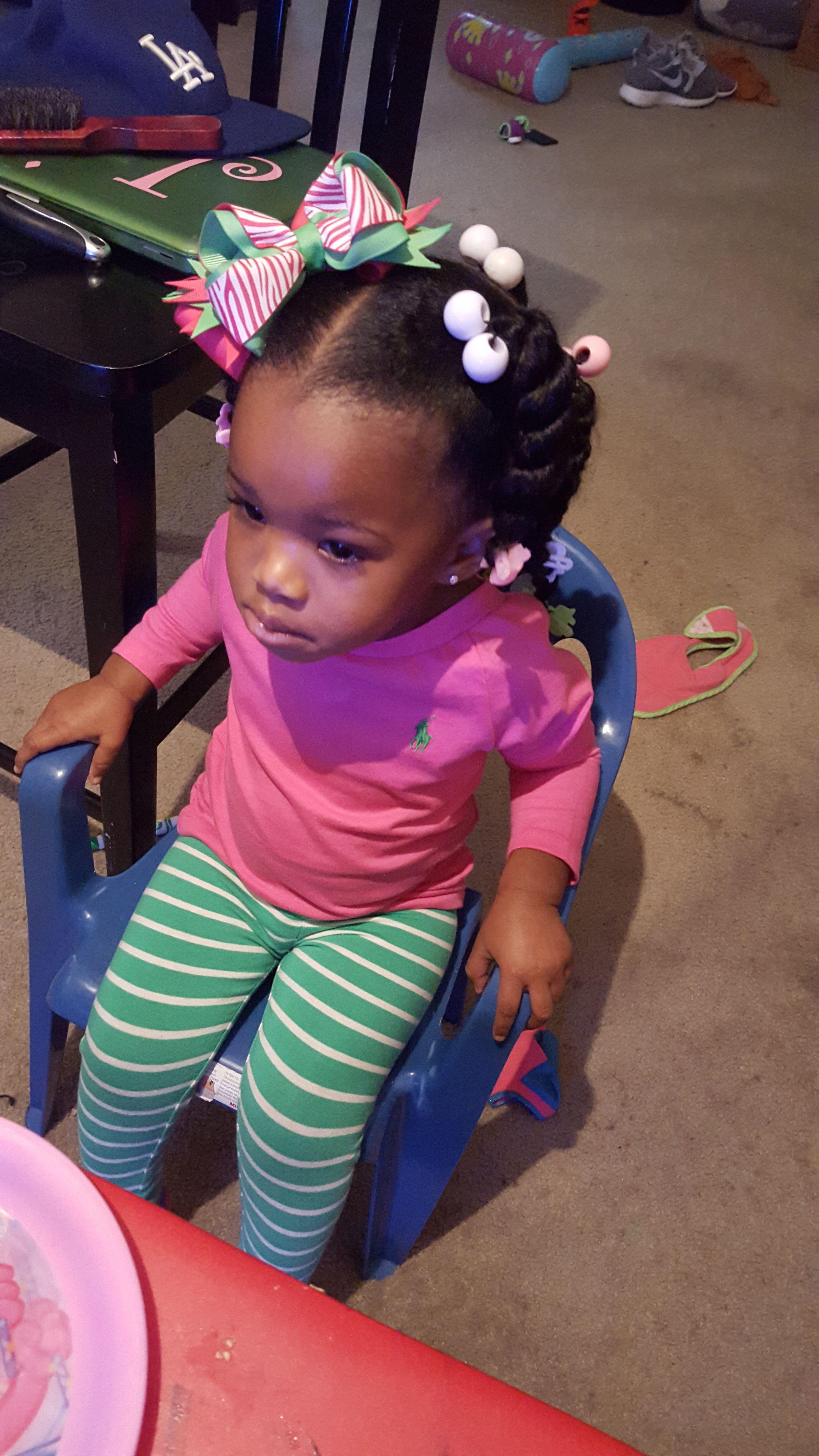 african-american toddler hairstyle | toddler hair