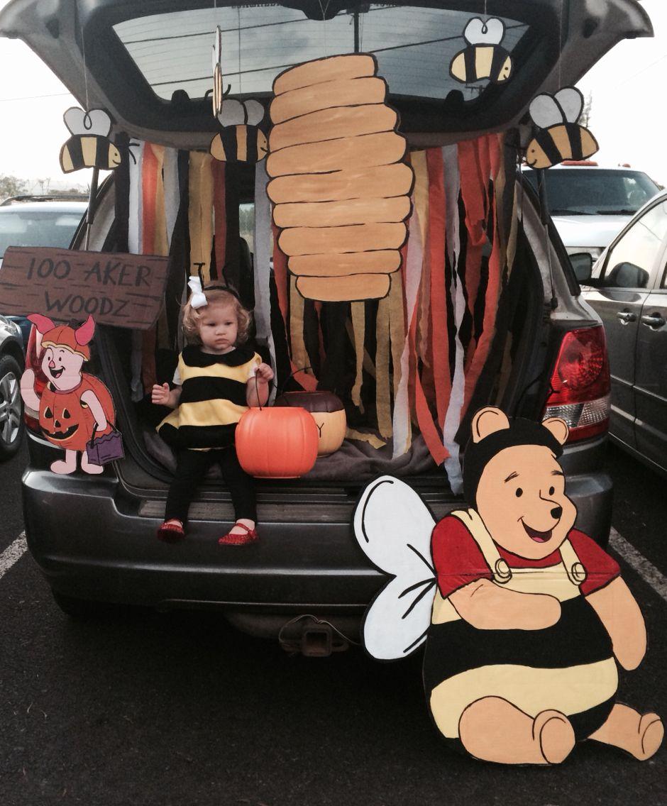 Trunk Halloween Decorating Ideas: Trunk Or Treat. Winnie The Pooh.