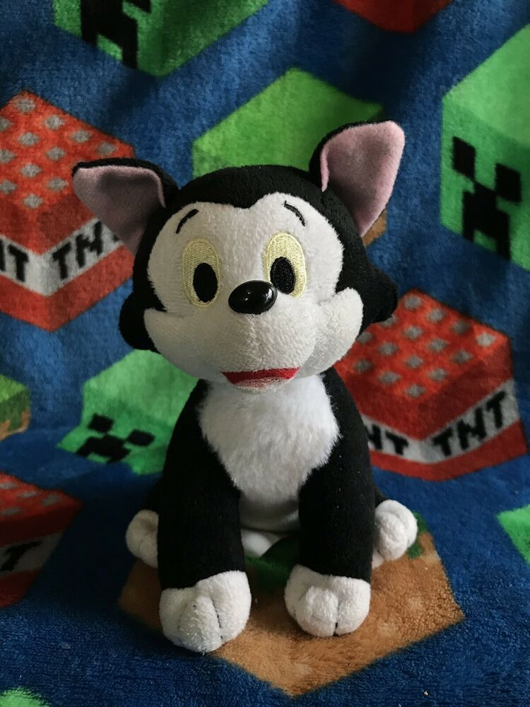 Adorable Little 7 Figaro Plush From Dis Eye Pinocchio Pinocchio