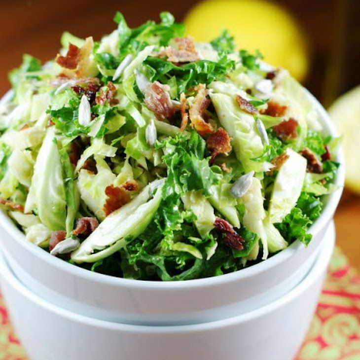 Shredded Brussels Sprouts Salad Recipe Brussel Sprout
