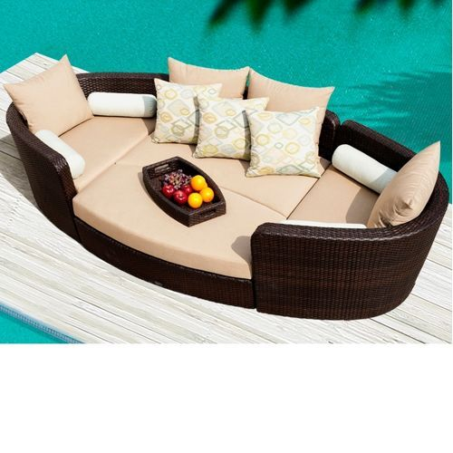 Venice 4 Piece Patio Modular Deep Seating Lounge Set By Sirio™