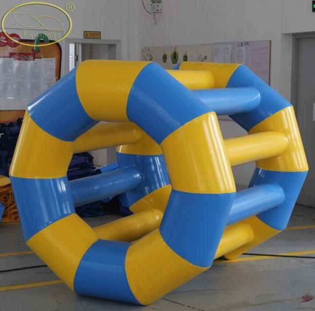water roller | Inflatable water park, Water park, Outdoor ...