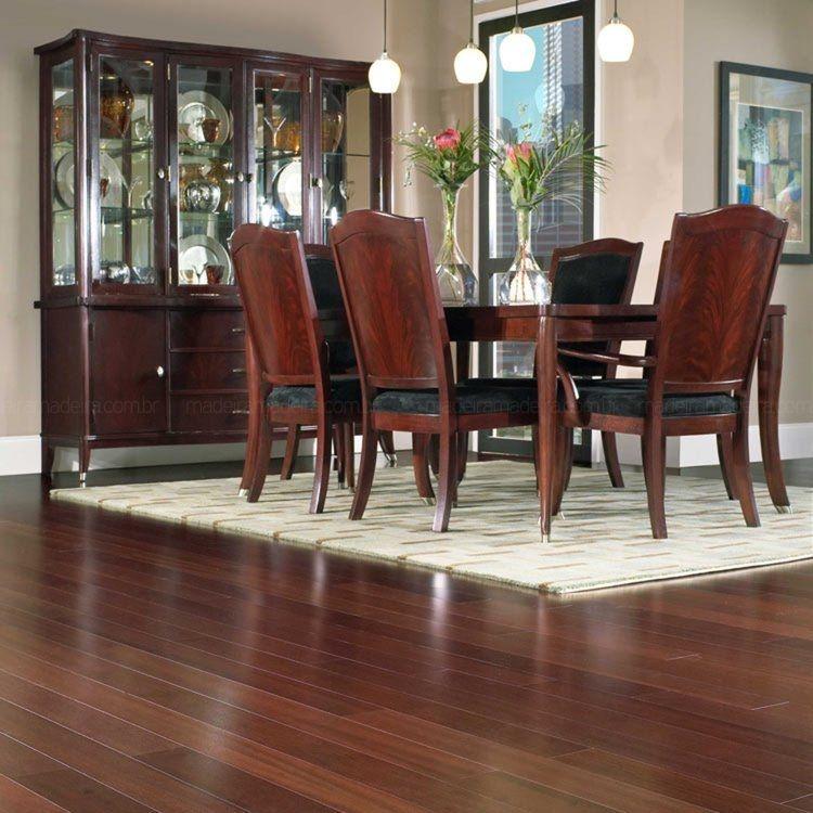 Charme e requinte com alta durabilidade e conforto você tem com os pisos de madeira!