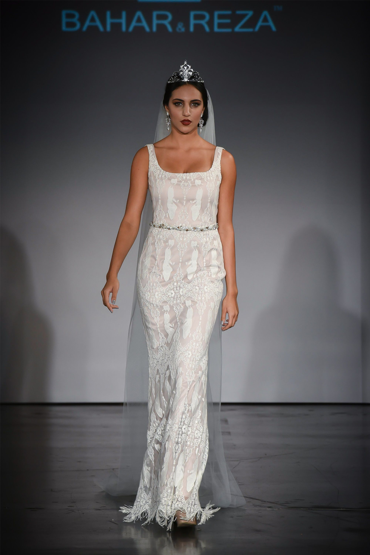Persian Safavid Inspired Wedding Gown - ALANGOO | Persian Inspired ...