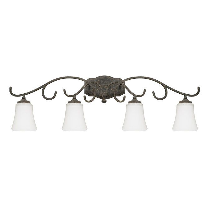 Weathered French Country Bath Light 4 Light Weathered Bronze 38 5w 11 5h 250 French Country Bathroom Vanity Lighting Capital Lighting