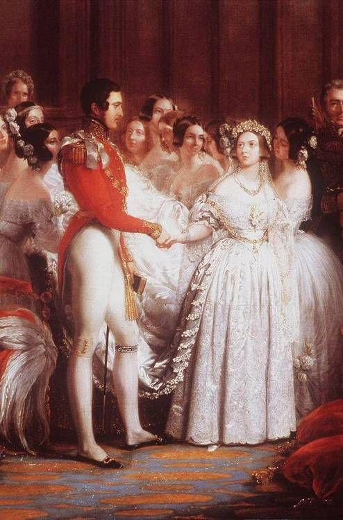 Marriage of VIctoria and Albert.