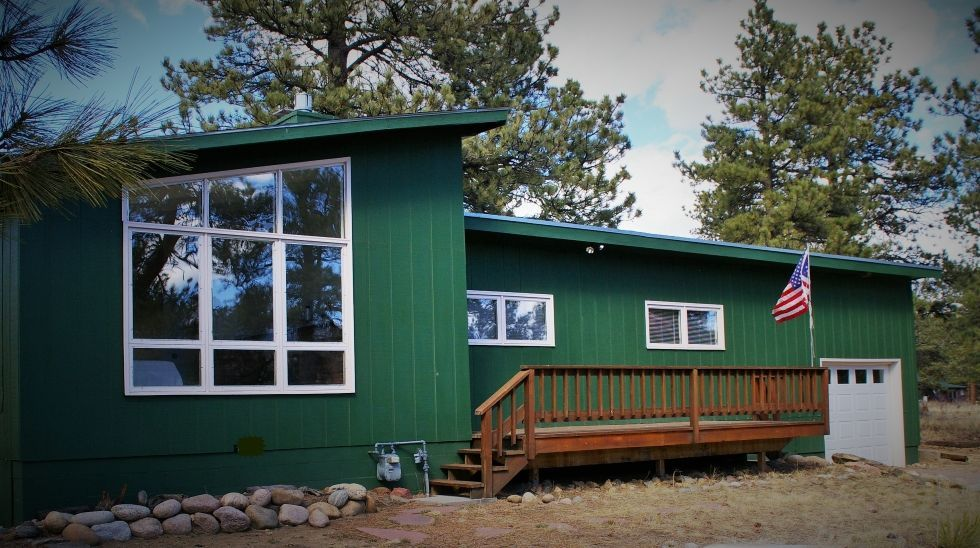 Cabin vacation rental in estes park co usa from