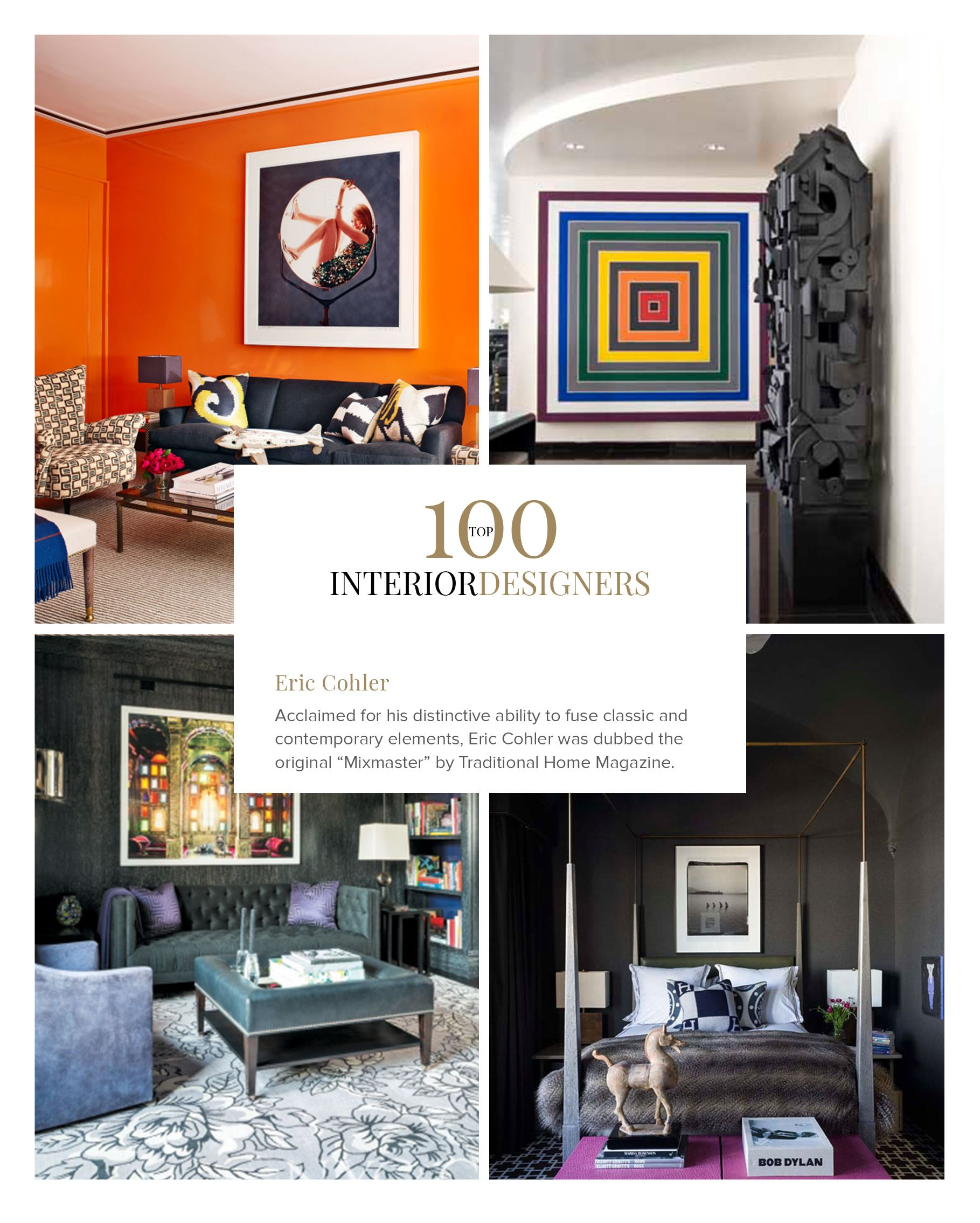 100 Best Interior Designers By Boca Do Lobo And Coveted Magazine