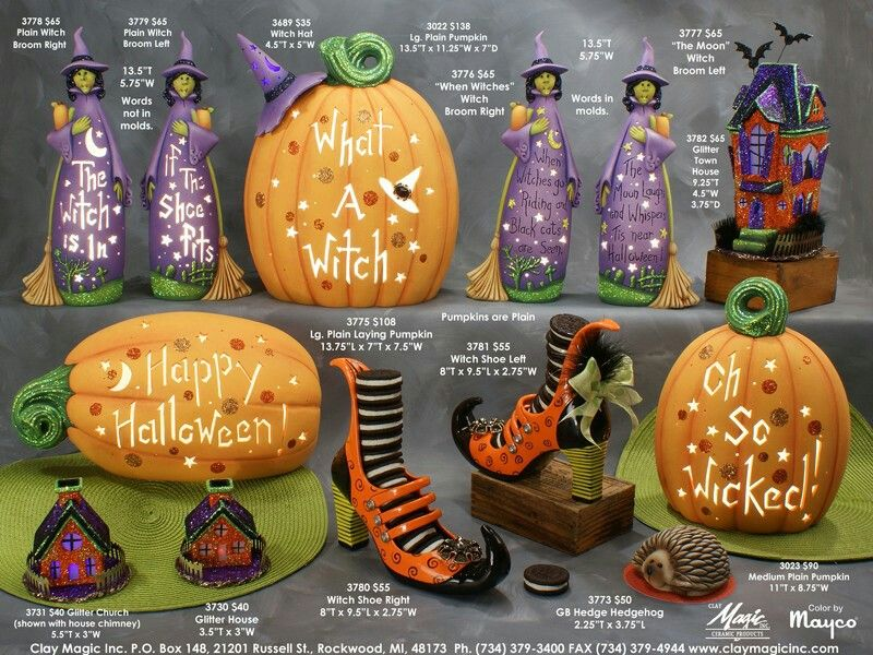 Pin by Teresa Carlucci {TotallyCre8tive} on Ceramics Pinterest - halloween catalog