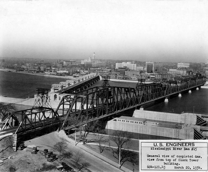 File:Mississippi River bridge dam Davenport LOC ppmsca ...