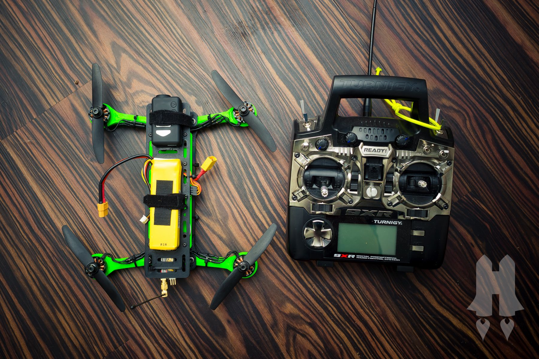 3d Printable Folding Micro Fpv H Quadcopter