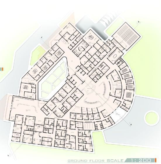 Ground Floor Plan Of Graduation Projects Varsity And