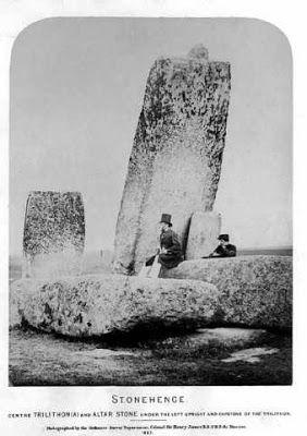 Stonhenge trilithon-early photo
