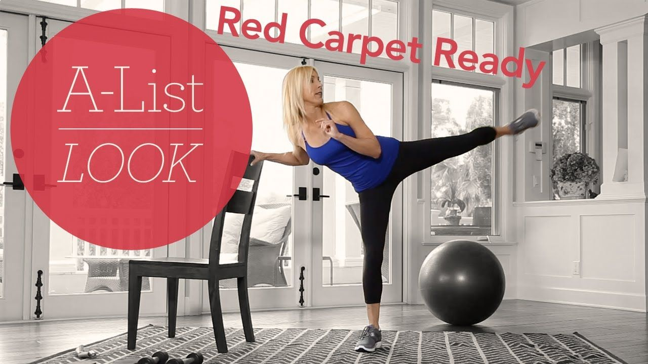 Red Carpet Ready Workout A List Look With Valerie Waters Cardio Workout Video Workout Videos Workout