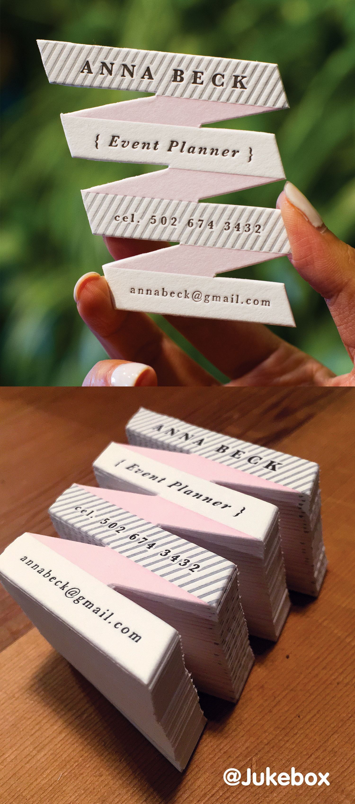 Letterpress business cards personalize your business cards with letterpress business cards personalize your business cards with a custom die cut shape reheart Image collections