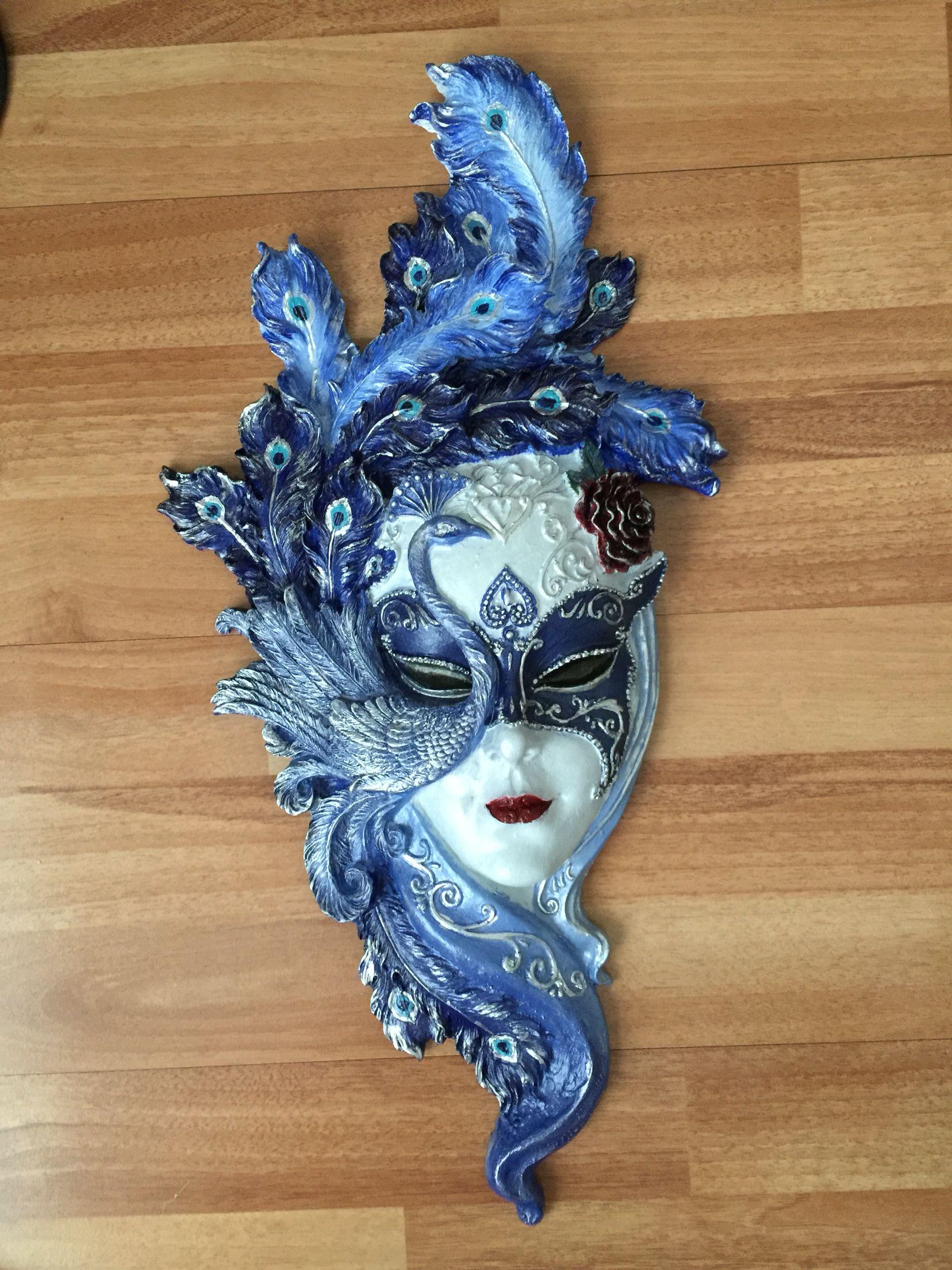Polyester Mask Boyama Polyester Mask Polyestermask Boyama Ceramic Mask Carnival Masks Venetian Carnival Masks