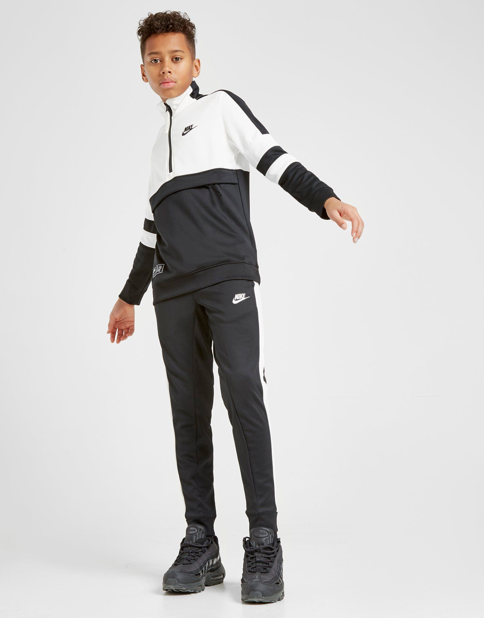 top design pretty nice size 40 Nike Air 1/4 Zip Tracksuit Junior in 2019 | Nike sportswear ...