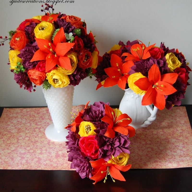 Paper flowers arrangements google search paper flowers paper flowers arrangements google search mightylinksfo