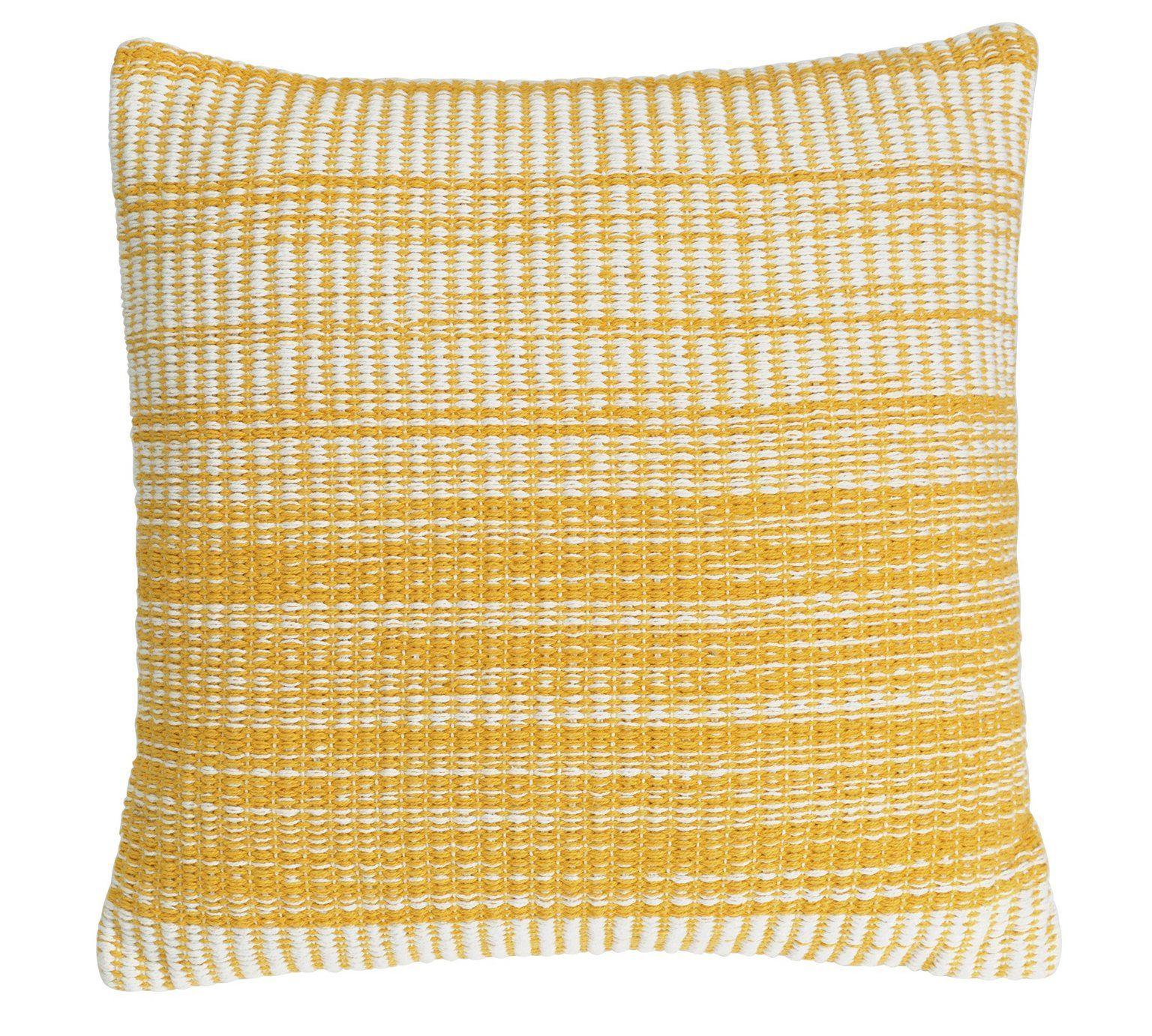 Buy Hygena Yellow Stripe Cushion at Argos.co.uk, visit