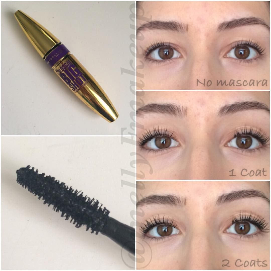 93fb981a30d Maybelline Colossal Big Shot Mascara. Follow my instagram @mellyfmakeup for  more!