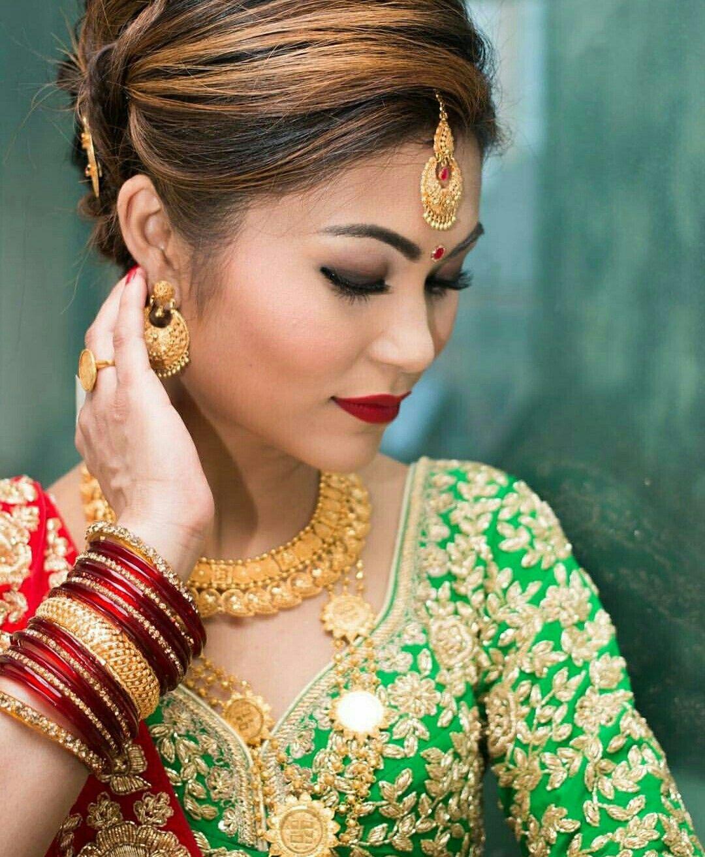 Nepali Wedding Tradition Nepal Marriage Bride Makeup Simple Saree Dress Bride Indian Pictures Wedding
