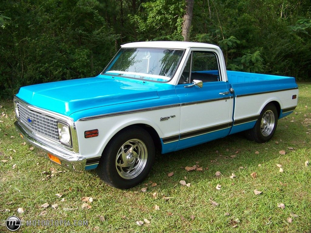 sweet 1971 chevy truck [ 1024 x 768 Pixel ]