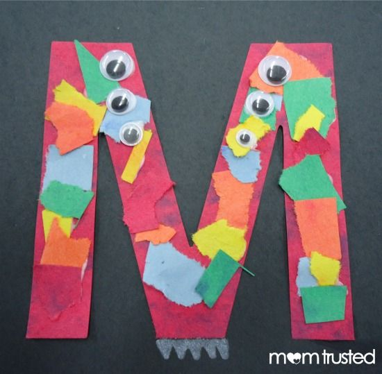 Fun ways to learn letters for preschoolers!