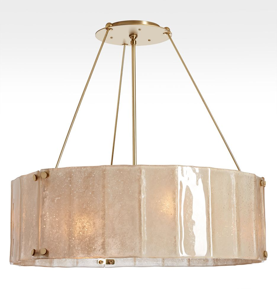 Rejuvenation willamette 32 aged champagne fluted chandelier willamette large aged champagne fluted chandelier 32 diameter a3004 arubaitofo Image collections