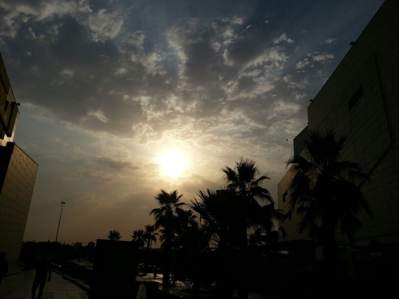 An evening sun captured by me...in kuwait..