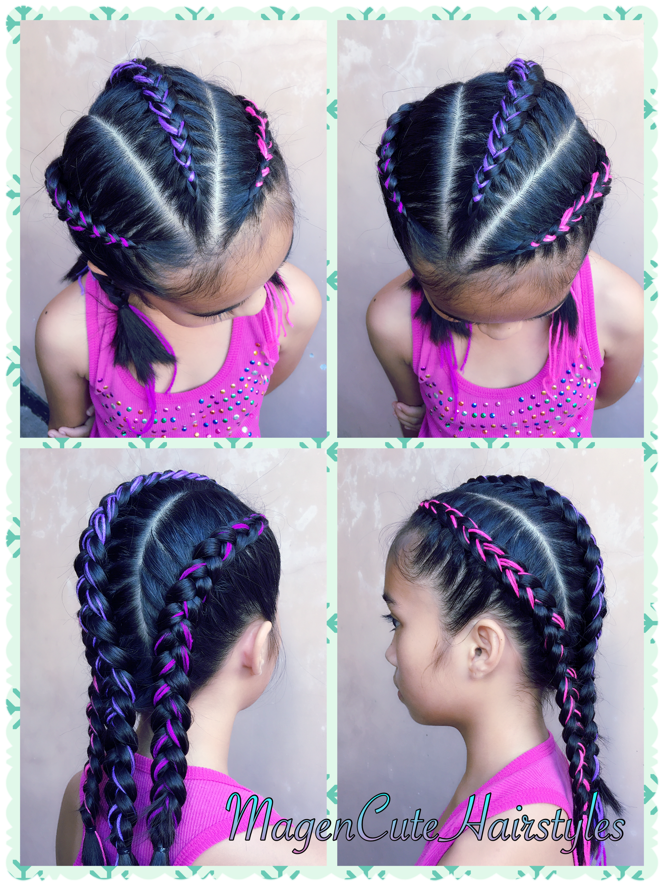 Dutch Yarn Braid Style Hair Styles Yarn Braids Styles Braided Hairstyles