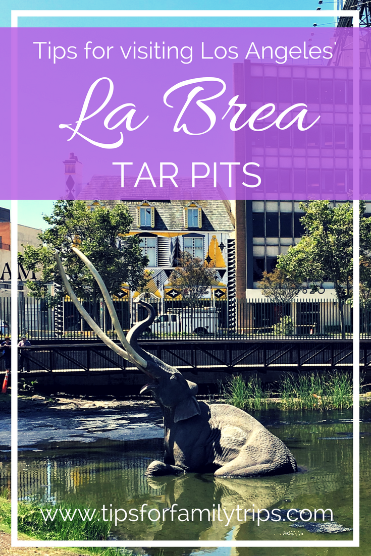 , 5 tips for visiting Los Angeles' La Brea Tar Pits, My Travels Blog 2020, My Travels Blog 2020