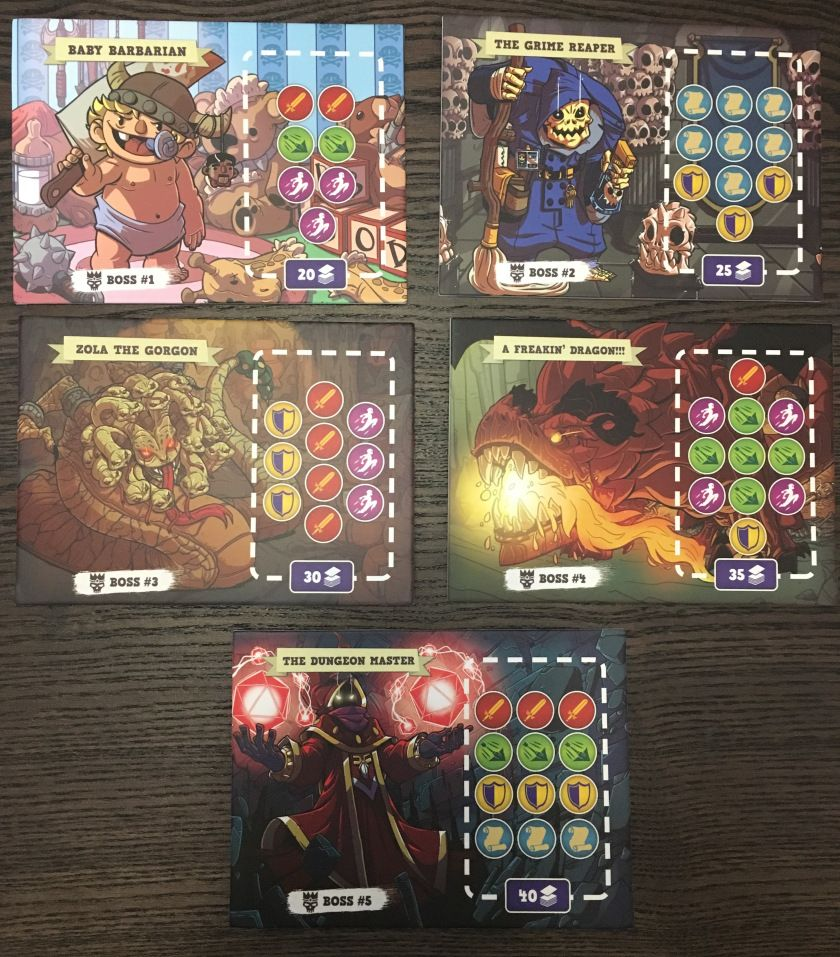 5Minute Dungeon Board games, Dungeon, Simple game