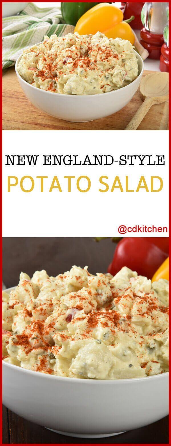 New England-Style Potato Salad Recipe | CDKitchen.com