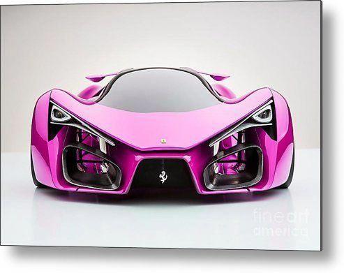 Pink Ferrari F80 Metal Prints Art. #FerrariPink #pinkferrari Pink Ferrari F80 Metal Prints Art. #FerrariPink #pinkferrari