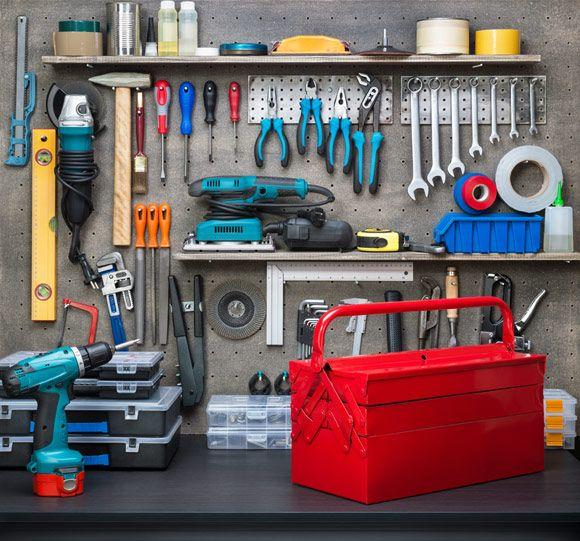 Ferramentas Como Organizar Em Um Painel Inspirado 47 Garage