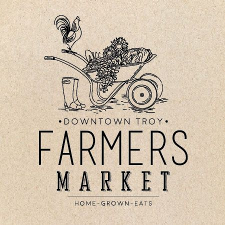 Logo design inspiration marche downtown troy farmers market also the basic color scheme and simple of this reflect rh ar pinterest