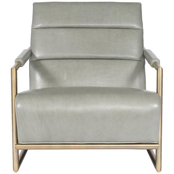 Vanguard Furniture Mccartney Leather Chair In 2019 Blue