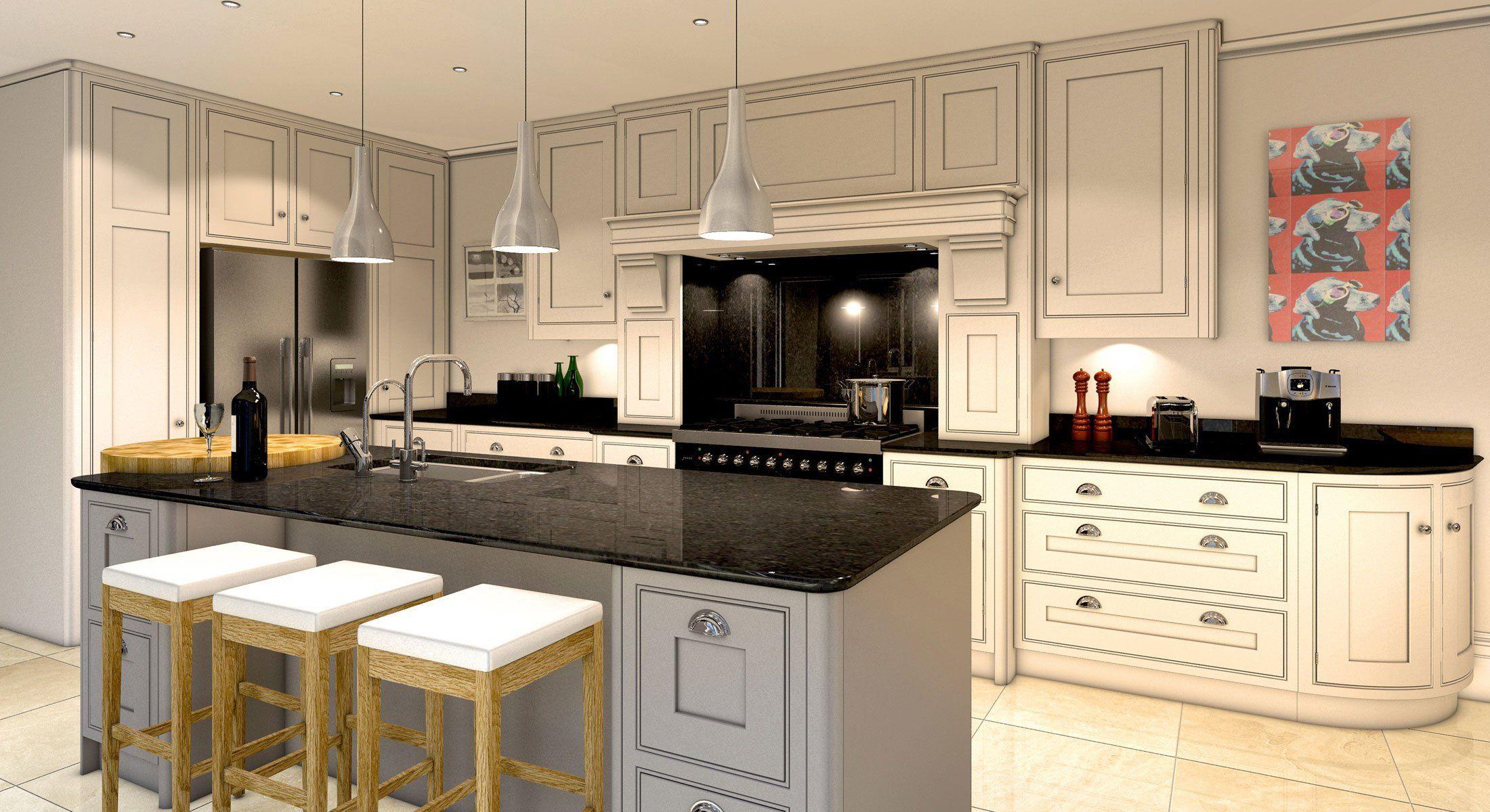 luxury kitchen fulwithmill harrogate luxury build development luxury ...