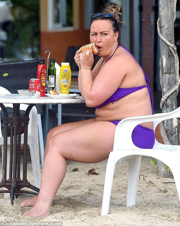 New chapter: After gaining seven stone, Chanelle Hayes has claimed she's far…