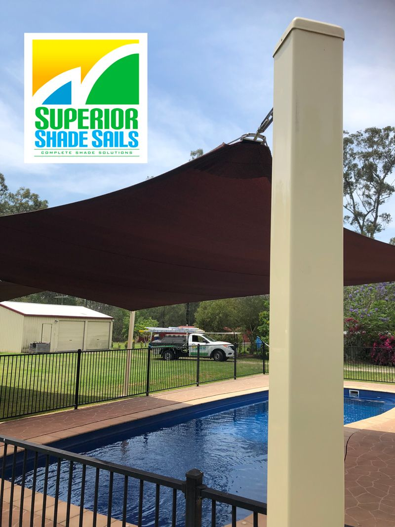 Pin by Superior shade sails on Swimming Pool Shade Sails in ...